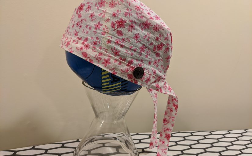 Scrub cap/surgical cap easy pattern